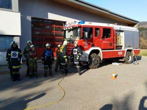 Truppmann Ausbildung UA4 in Kirchbach