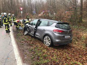 Verkehrsunfall am 25.12.2020