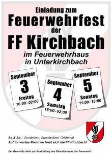 Read more about the article Feuerwehrfest 2021
